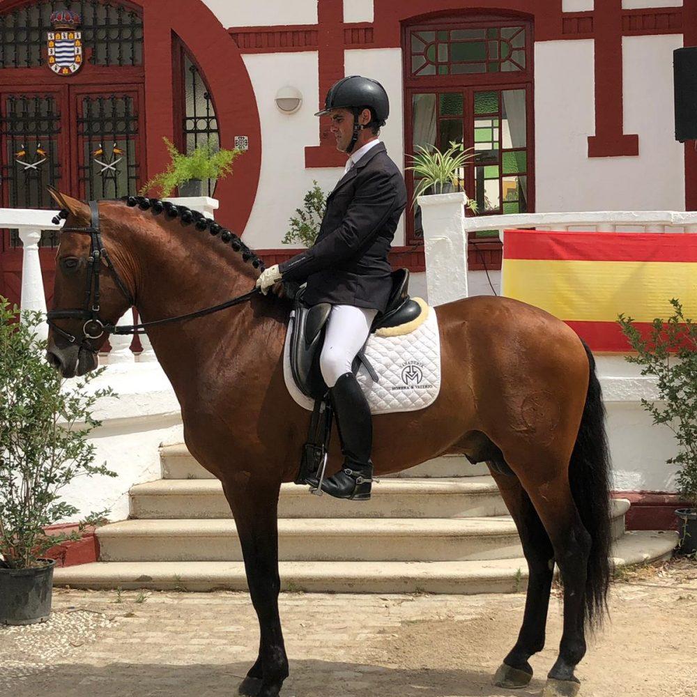 Serón, doble campeón en Doma Clásica en Jerez de la Frontera
